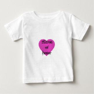 Matrone der Ehre Baby T-shirt