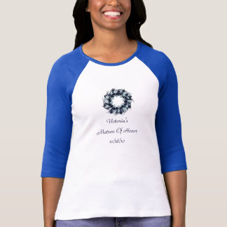 """""""Matrone des Ehren"""" - Feiertags-Kranzes mit dem T-Shirt"""