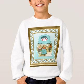 Matryoshka Puppen Sweatshirt