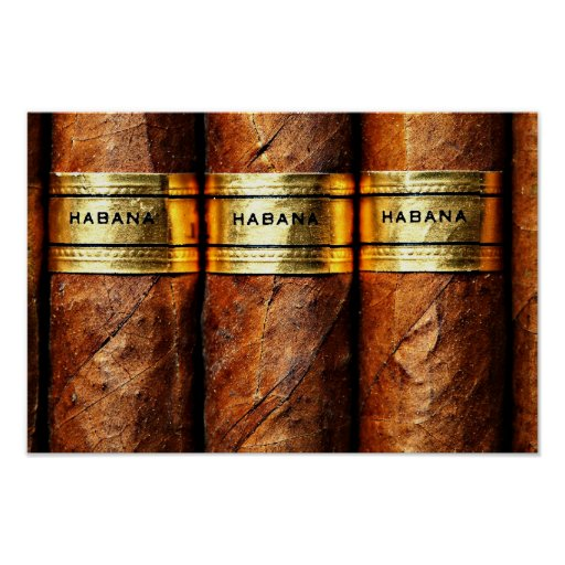 (Matt) kubanische Zigarre des Plakat-Papiers, Poster