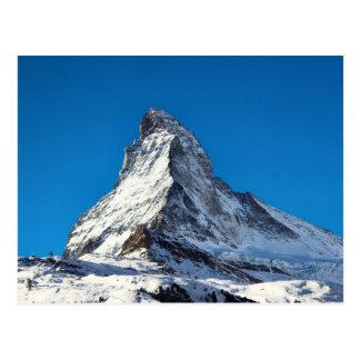 Matterhorn-Foto Postkarte
