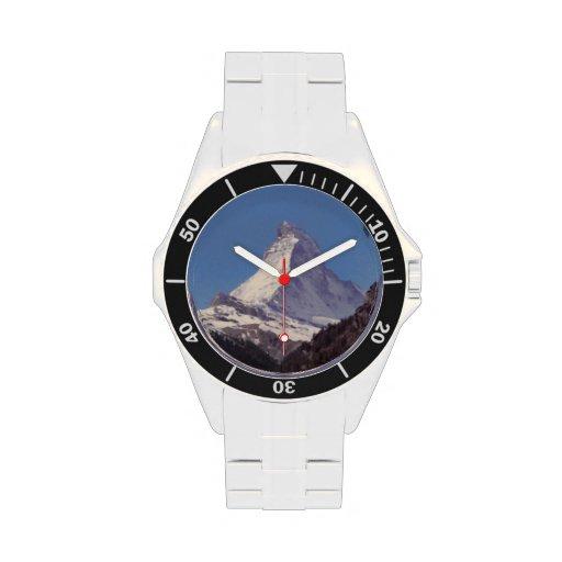 Matterhorn-GebirgsEdelstahl-Bergsteiger-Uhr