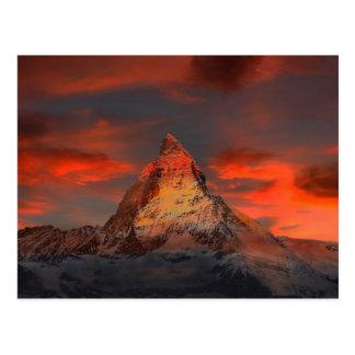Matterhorn Postkarte