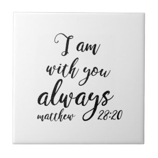Matthew-28:20 Fliese