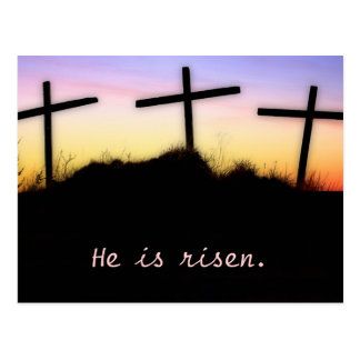 Matthew-28:6 Postkarte