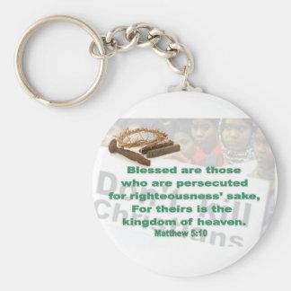 Matthew-5:10 Schlüsselanhänger