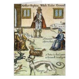 Matthew Hopkins (D 1647) Karte