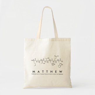 Matthew-Peptidnamentasche Tragetasche
