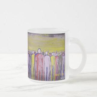 Mattierte Kaffee-Tasse Matte Glastasse