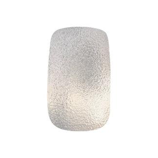 Mattierter Glaseffektentwurf Minx Nagelkunst