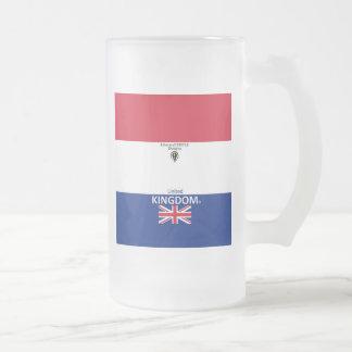Mattiertes Glas Vereinigten Königreichs Mattglas Bierglas
