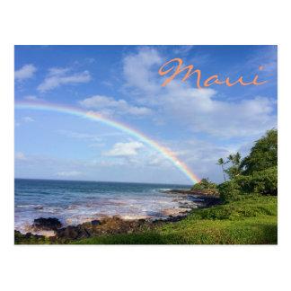 Maui-Insel-Regenbogen Postkarten