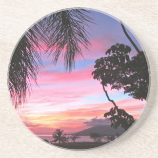 Maui-Sonnenuntergang Getränkeuntersetzer