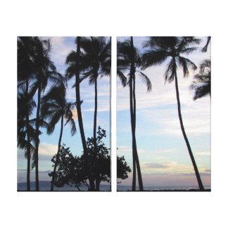 Maui-Sonnenuntergang Leinwanddruck