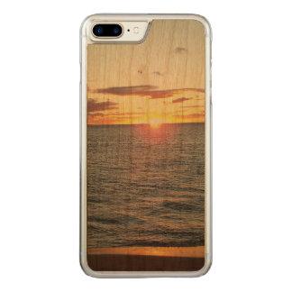 Maui-Sonnenuntergang-Telefon-Kasten Carved iPhone 8 Plus/7 Plus Hülle