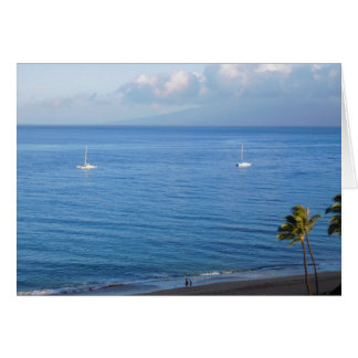Maui-Strand Karte
