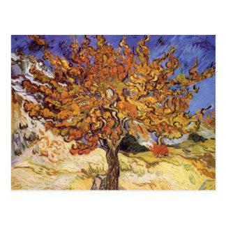 Maulbeerbaum durch Vincent van Gogh Postkarte