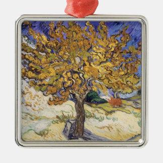 Maulbeerbaum Vincent van Goghs |, 1889 Silbernes Ornament