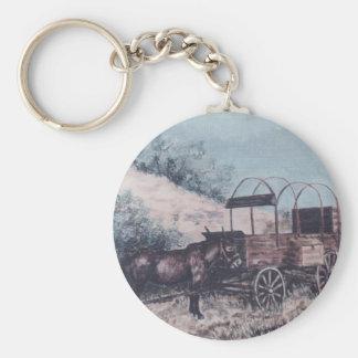 Maultier- und Antikenlastwagen Schlüsselanhänger