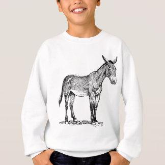 Maultier-Zeichnen, störrisch Sweatshirt