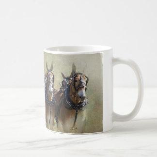 Maultier-Zug Kaffeetasse