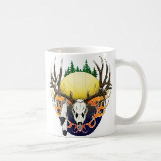 Maultierhirschschädel Kaffeetasse