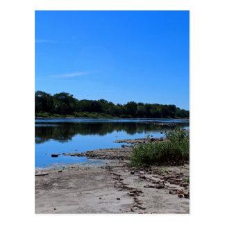 Maumee Fluss-Grundgestein I Postkarte
