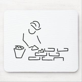 maurer bauarbeiter hausbau mauer mauspad