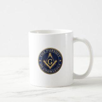 Maurer das Streben nach Wissen Kaffeetasse