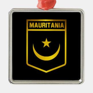 Mauretanien-Emblem Silbernes Ornament