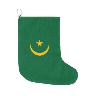 Mauretanien-Flagge Großer Weihnachtsstrumpf