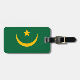 Mauretanien-Flagge Kofferanhänger