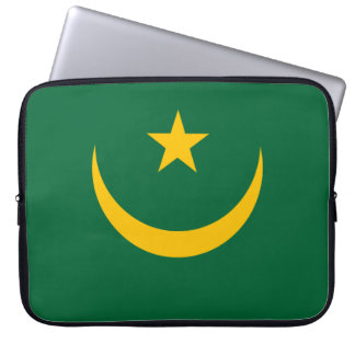 Mauretanien-Flagge Laptop Sleeve