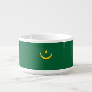 Mauretanien-Flagge Schüssel