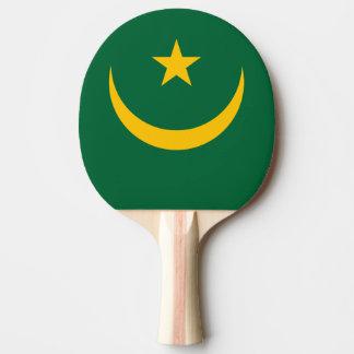 Mauretanien-Flagge Tischtennis Schläger
