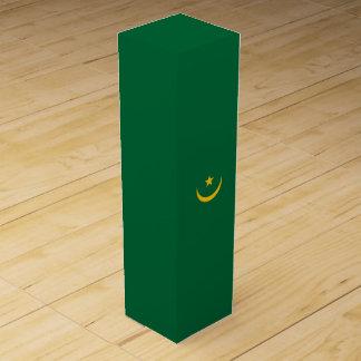 Mauretanien-Flagge Weinbox
