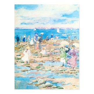 Maurice Prendergasts Sommer-Besucher Postkarte