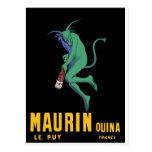 Maurin Quina - Cappiello 1906 - Wermut Apertif Postkarte