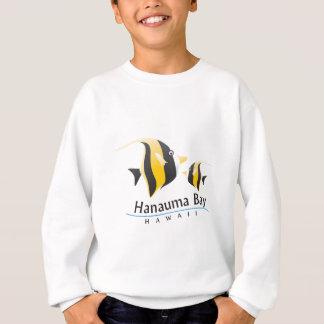 Maurische Idol-Fische Hanauma Bucht-Hawaiis Sweatshirt
