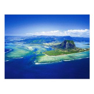 Mauritius-Insel-Postkarte Postkarte