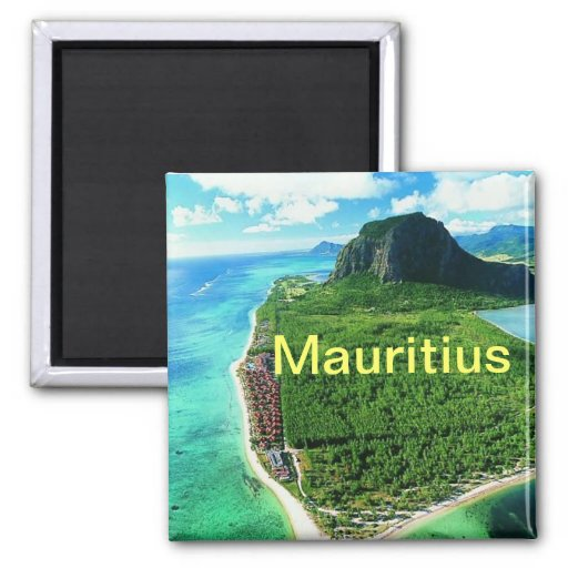 Mauritius-Magnet ` Magnets