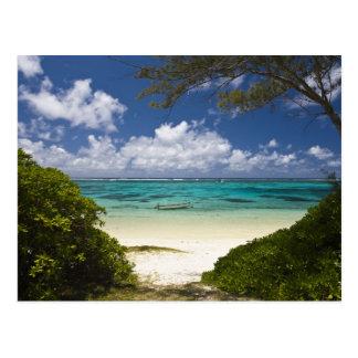 Mauritius, Ostmauritius, Schönheits-Stute, Ost Postkarte