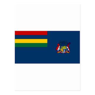 Mauritius-Regierungs-Fahne Postkarte