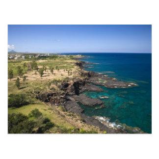 Mauritius, Western Mauritius, Schönheit Vue, Ozean Postkarte