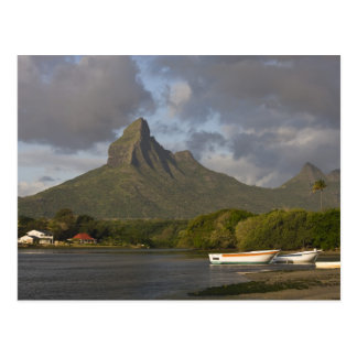 Mauritius, Western Mauritius, Tamarin, Montagne Postkarte