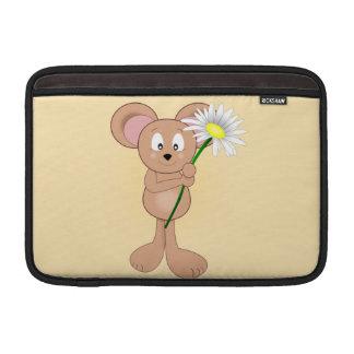 Maus mit Blume MacBook Air Sleeve
