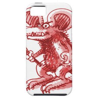 Maus mit harter Planke iPhone 5 Case