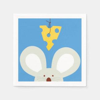 Maus und Käse Servietten