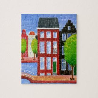 Mäusehaus-Puzzlespiel Puzzle