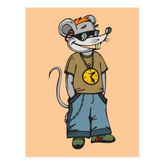 Mäusejugendlicher Postkarten